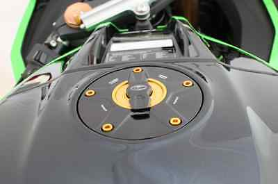 Evotech Tappo Benzina Sgancio Rapido Kawasaki Zx6r 98 99 00 01 02 03 04 05 06 07