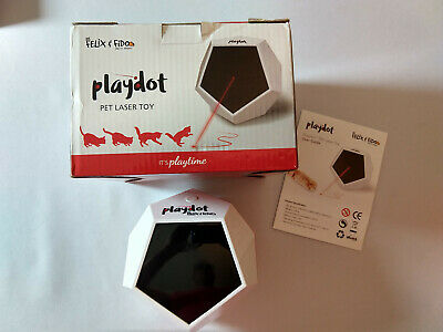 Cat Laser Toy Battery Operated Cat Toy Playdot 4 Operating