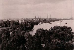 Hambourg C. 1890 - Panorama Allemagne - Alb 54