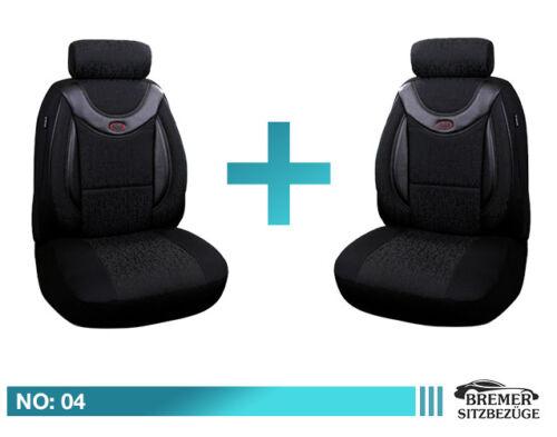 BMW X3  E83 F25 Schonbezüge Sitzbezug Auto Sitzbezüge Fahrer /& Beifahrer 04