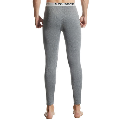Men Winter Autumn Long Johns Thermal Breathable Underwear Thin Thick Sport Style