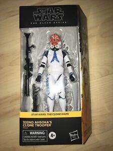 Star Wars Black Series The Clone Wars 332nd Ahsoka Clone Trooper Hasbro IN HAND