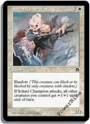 White Stronghold Mtg Magic Rare 1x x1 Losse kaarten Magic: The Gathering, MTG) 1 PLAYED Soltari Champion