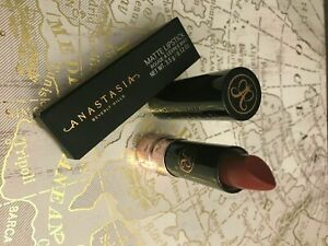 Anastasia Beverly Hills Cosmetics Matte Lipstick Rum Punch Mauve Red Authentic Ebay
