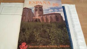 LIBRO-OFICIAL-DE-CORREOS-ESPANA-1988-COMPLETO-SUPER-OFERTA-UNICA-Y-ESPECIAL