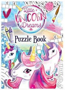 12-Unicorno-divertente-attivita-LIBRO-Puzzle-Party-Bag-Filler-Bambine-attivita