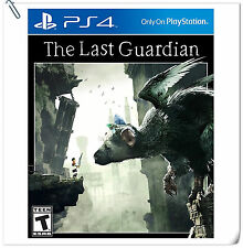 PS4 The Last Guardian SONY PLAYSTATION Action Game SCE