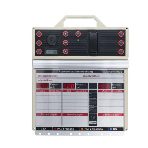 gebraucht Auercontrol E Auer Atemschutz Überwachungstafel MSA Auer