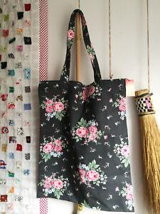 Details zu Green Gate Stoffbeutel Bag cotton Marley dark grey 34cm x 45cm Baumwolle Shopper