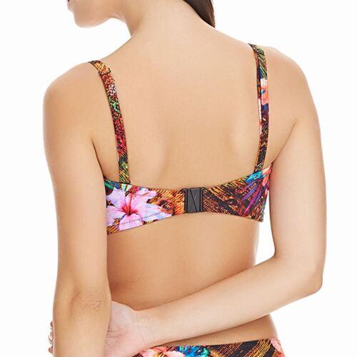 Freya Swimwear Safari Beach Twist Bandeau Bikini Top Multi 3723