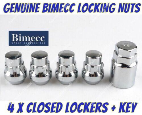 Alloy Wheel Locking Nuts Bimecc Closed M14x1.5 Ford transit Custom Sport 2013/>