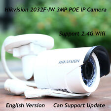 Hikvision DS-2CD2032F-IW 3MP Network IP Camera POE 2.4G Wifi Bullet Wireless IR
