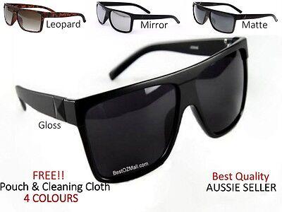 Retro Gloss Black Madness Wayfarer 80s Classic Style Mens Womens Sunglasses