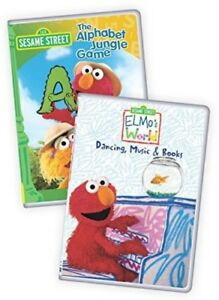 Details About Sesame Street Elmo S World Dancing Music And Books The Alphabetjungle Game