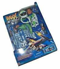 【RARE】'99 Mattel Max Steel Sky Strike Deluxe Action Figure-Rocket Pack! FreeShip