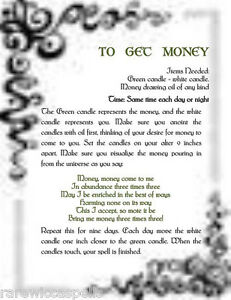 Spell-to-Get-Money-Wicca-Book-of-Shadows-Pagan-Occult-Ritual
