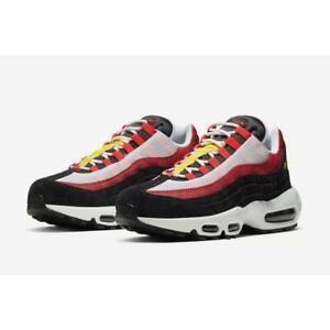 Nike-Air-Max-95-White-Black-Bright-Crimson-Men-s-Shoes-AT9865-101-Multi-Sz