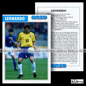 LEONARDO-NASCIMENTO-DE-ARAUJO-PSG-PARIS-SAINT-GERMAIN-Fiche-Football-1997
