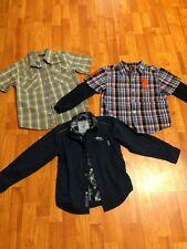 Boys (youth) 3 Shirts Lot GUESS, CALVIN CLAIN, USPO sz. 7/7x