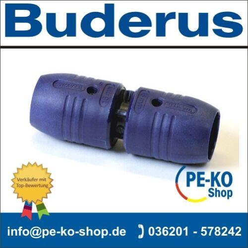 Wavin smartFIX  Kupplung Buderus