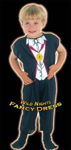 HALLOWEEN FANCY DRESS FUN BOYS VAMPIRE COSTUME TOD 2-3