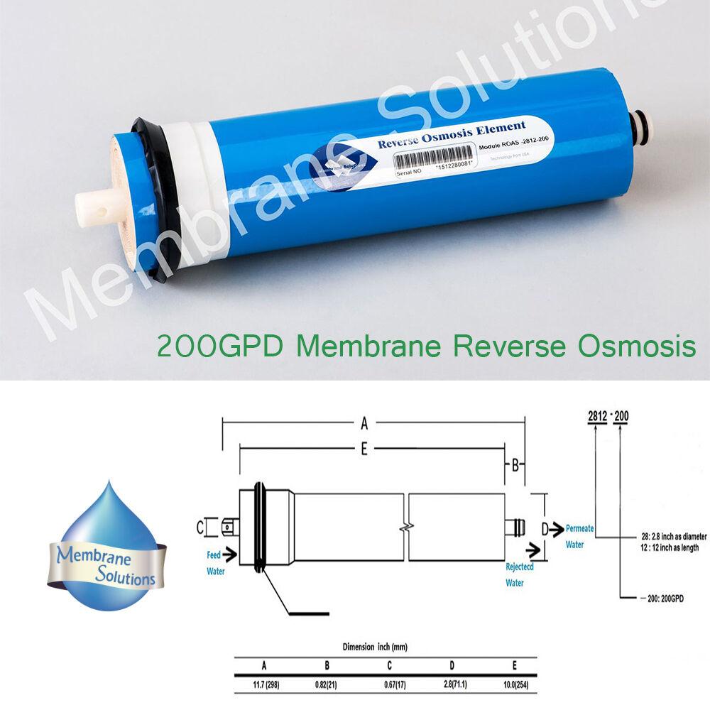 Osmose Inverse Osmose Inverse Filtre à Eau Membrane 200 Gotham Police Department-Roas - 2812-200  Osmose Inverse Membrane