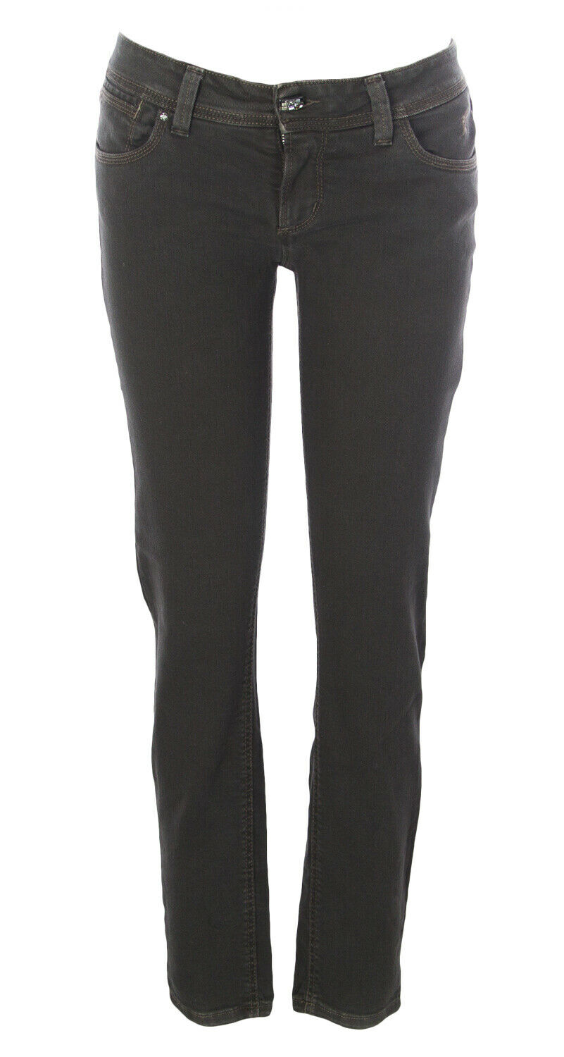 JAGGY Women's Joanne Chocolate Skinny Fit Jeans  158 NEW