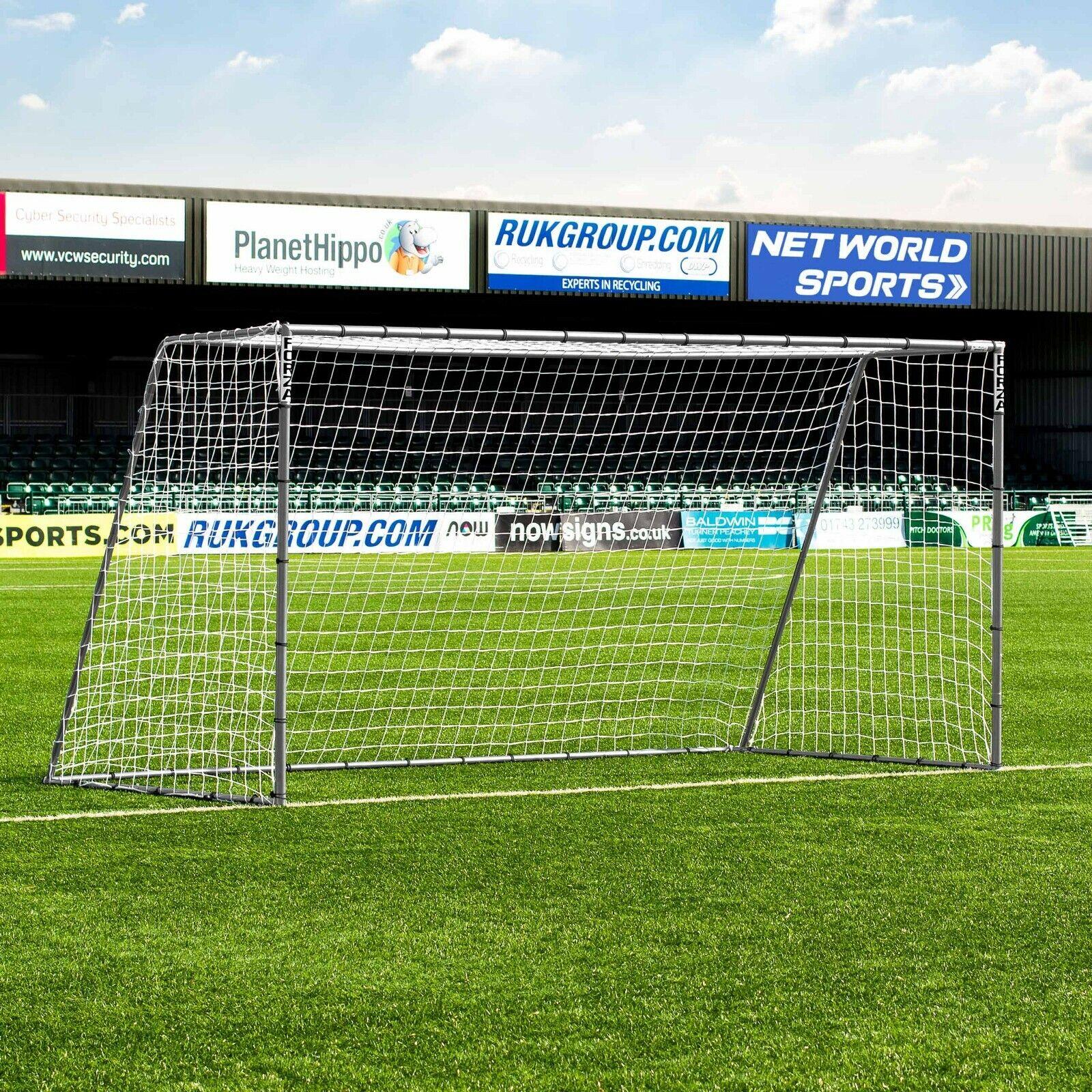 Forza Acero 42 objetivo de fútbol   12 ft (approx. 3.66 m) X 6 ft (approx. 1.83 m)   fuerte Junior meta   Acero Niños meta