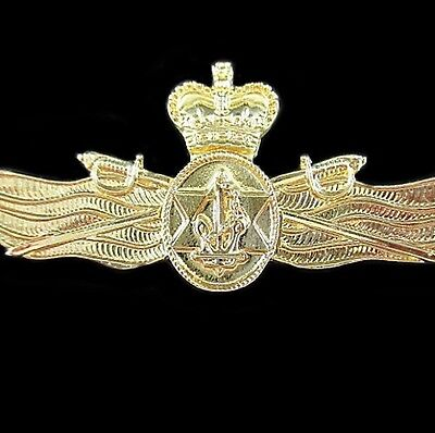 GENUINE ROYAL AUSTRALIAN NAVY OFFICER SUPPLY CHARGE BADGE