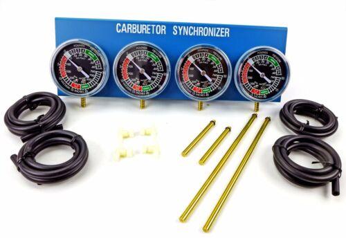 2FastMoto 4 Carburetor Synchronizer Carb Vacuum Gauge Sync Tool Triumph