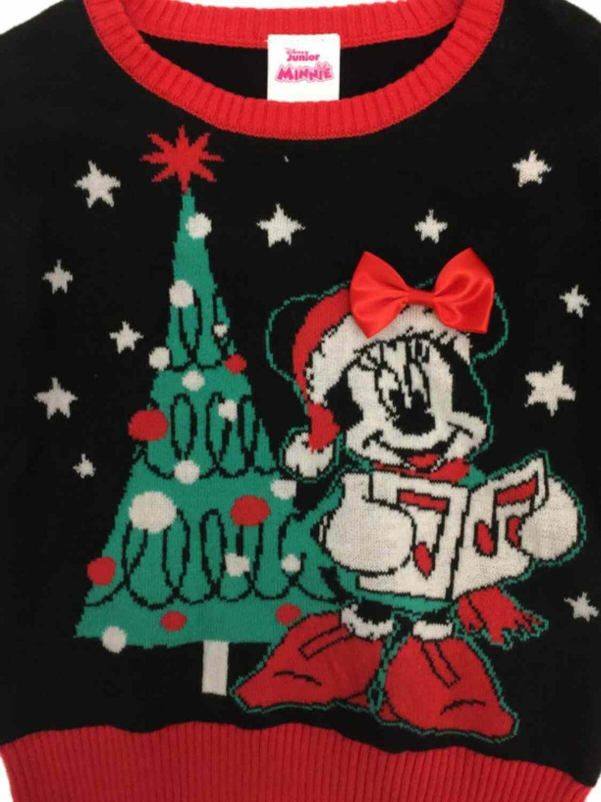Disney Minnie Mouse 12 Month Sweater Toddler Girls Holiday Christmas Ugly
