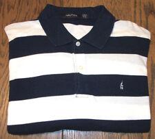 Nautica Sailing Embroidered Sailboat 100% Cotton Golf Polo Shirt Men's XXL