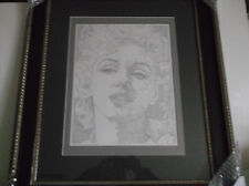 Guillaume Azoulay's Marilyn Monroe Pen & Ink Drawing Framed