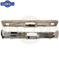1964 Ford Galaxie Chrome Front & Rear Bumper Set - Brand Tooling