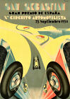"Aston Martin Luxury Super Race Car Art Silk Wall Poster 21/""x13/""  012"