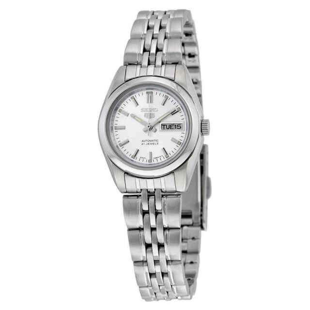 Seiko Silver Dial Stainless Steel Ladies Watch Item No Srz383 For Sale Online Ebay