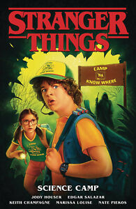 Stranger Things TPB Volume 4 Science Camp Softcover Graphic Novel