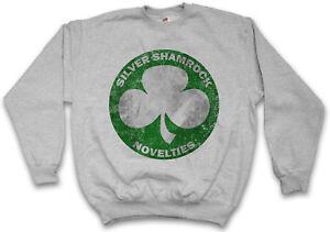 Ortsschild Firma Shamrock Silver Road Halloween Pullover Sign Novelties Logo xHAn46AX