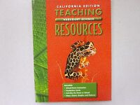 Harcourt Sciences Grade 5 California Teaching Resources Book 015317689x