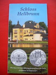 Autriche 2004 Hgh - Argent - Schloss Hellbrunn Une Performance SupéRieure