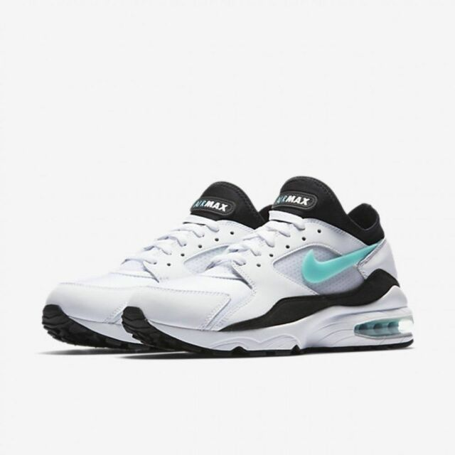 reputable site e2f85 07c36 ... denmark nike air max 93 dusty cactus mens 306551 107 white black  turquoise shoes size 12
