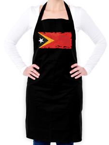 Asie-pays-voyage Timor Oriental Drapeau Unisexe Tablier-Timor-Leste-Dili