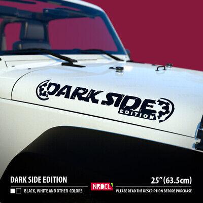 Hood Death Star v2 darth Vader Sith Galactic Empare Force Wars Car Vinyl Decal
