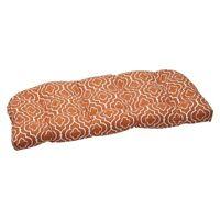 Outdoor Wicker Loveseat Cushion Set -starlet
