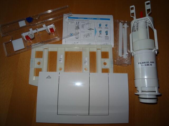 WC Betätigungsplatte 331001 330801 FRIABLOC  F 100 2-Menge Friatec Umbausatz v