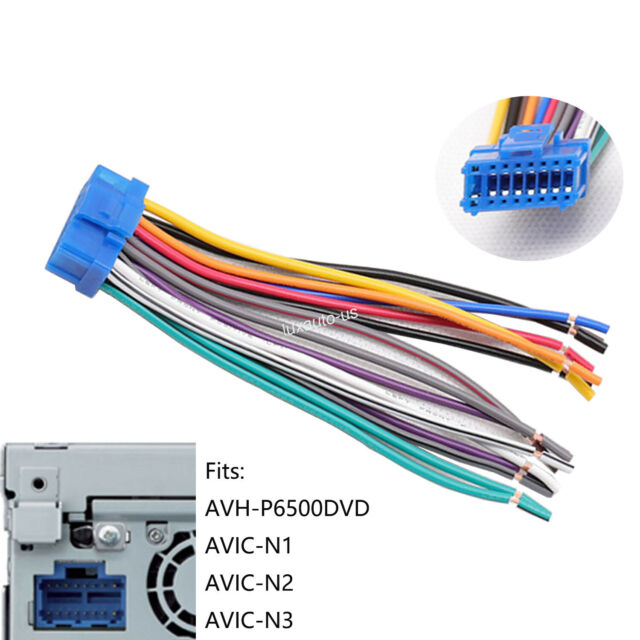 Aftermarket Wire Harness Plug For Pioneer Avh