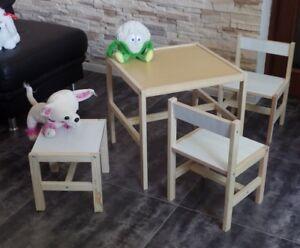Tavolo per bambini seggiolone sgabelli arredamento mobili