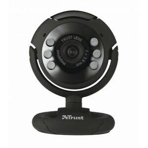 Trust SpotLight Pro Webcam 1.3 Mpx con luci LED Integrate