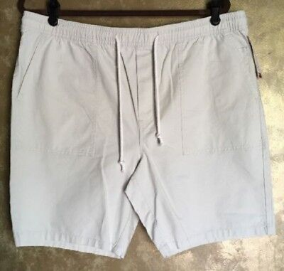 New Merona Size Small Mens Shorts Dark Gray Drawstring 100/% Cotton Beachcomber