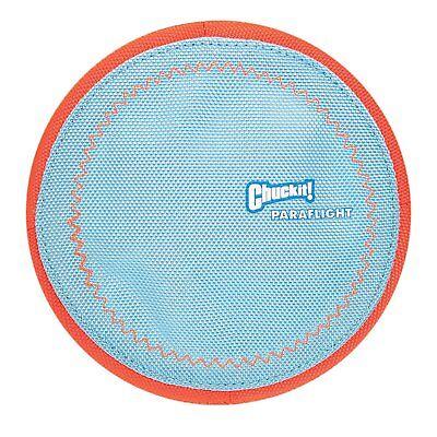 Chuckit! Dog Fetch PARAFLIGHT Far Flying Disc Frisbee Floating Toy LARGE